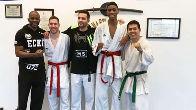 Mickael Serfati Houston Karate seminar