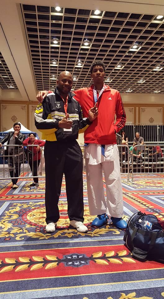 Marvin and Alex Ndem 2018 USA Open & Junior International Cup Las Vegas