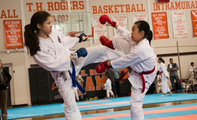 Houston Open Karate Tournament 2018 kumite picture